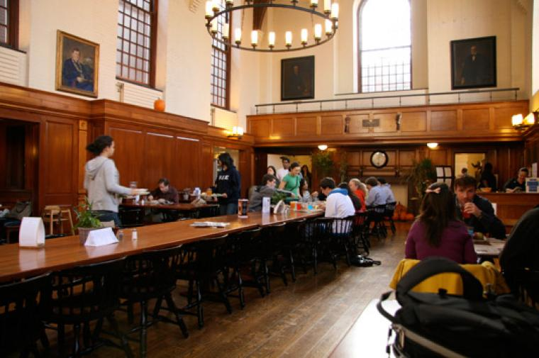 Dining Room At Yale University